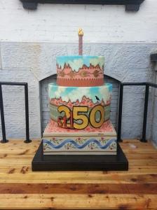 Cake #9. At the Lemp Mansion