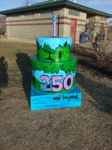 Cake #25! At Creve Coeur Lake