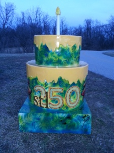 Cake #28 At the Centennial Greenway/Katy Trail