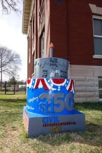 Cake #40 at the Missouri Civil War Museum