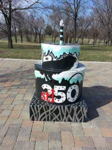Cake #41 at the Mississippi River Greenway - Trailhead in Jefferson Barracks Park