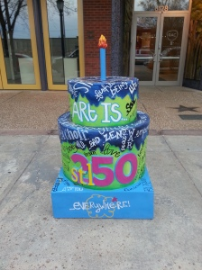 Cake #52 at the Regional Arts Commission