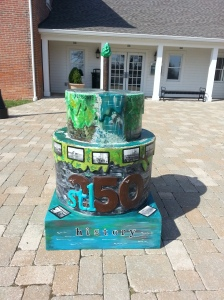 Cake #56 at St. Charles County Heritage Museum at Heritage Park