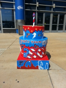 Cake #66 at the Scottrade Center