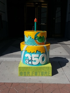 Cake #73 at the Lammert Building