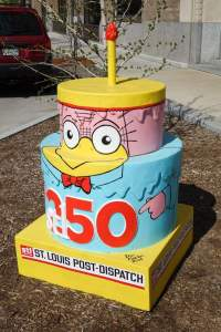 Cake #72 at the St. Louis Post-Dispatch