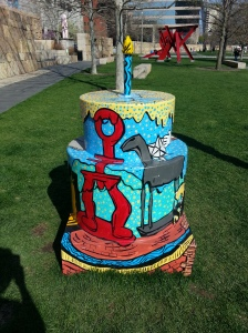 Cake #75 at Citygarden *Back view*