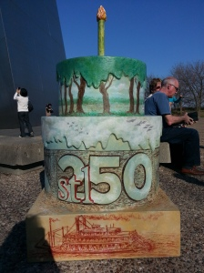 Cake #78 at the Gateway Arch