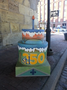 Cake #79 at the Eads Bridge