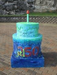 Cake #121 at the Piasa Bird